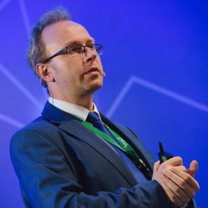 Krzysztof Piech, ekspert ds. technologii blockchain, nauczyciel akademicki, wyznawca bitcoina - bierze udział w projekcie tecracoin, w którego portfelu znajduje się m.in żarówka z grafenu