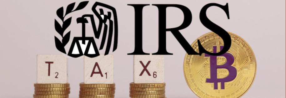 IRS - amerykański urząd podatkowy za opodatkowaniem kryptowalut