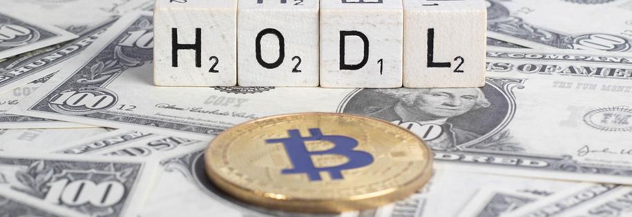 hodl - czyli strategia polegająca na trzymaniu kupionych kryptowalut w oczekiwaniu na moment aż ich wartość wzrośnie