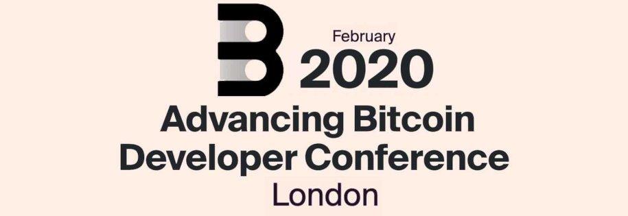 2-dniowa konferencja dla programistów bitcoin i blockchain w Londynie - advanting bitcoin developer conference 2020