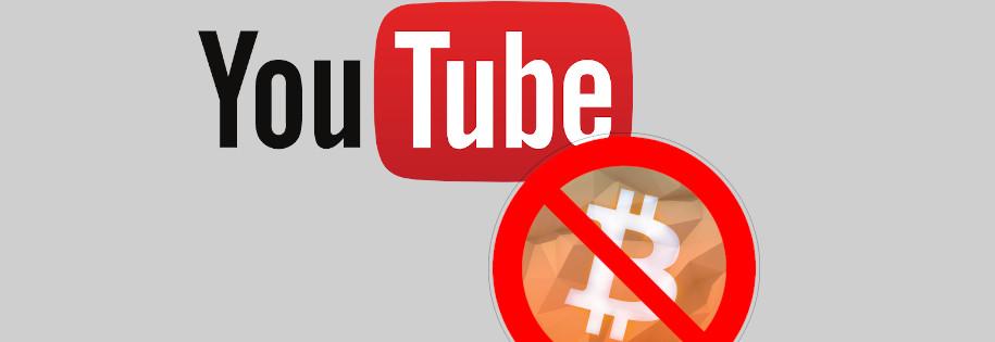 youtube znów usuwa filmy związane z kryptowalutami