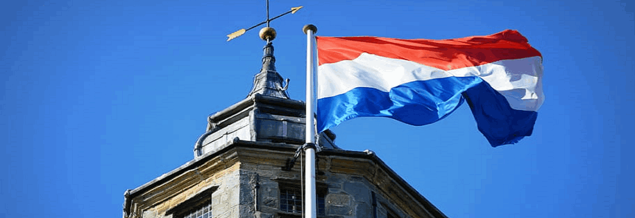 dutch flag & the tower