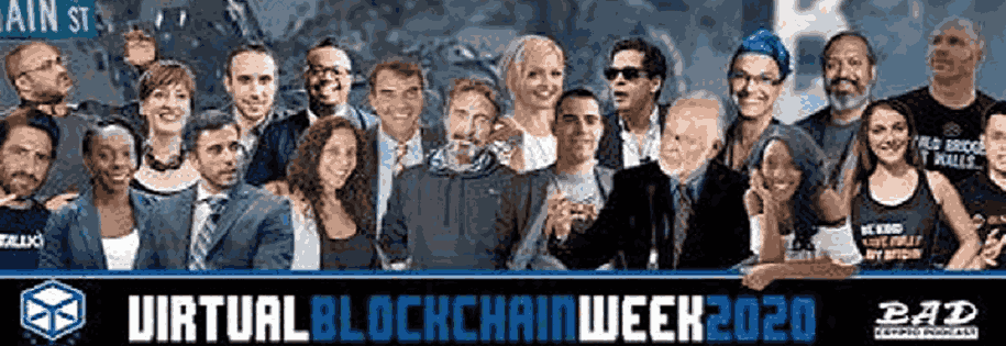logo - virtual blockchain week