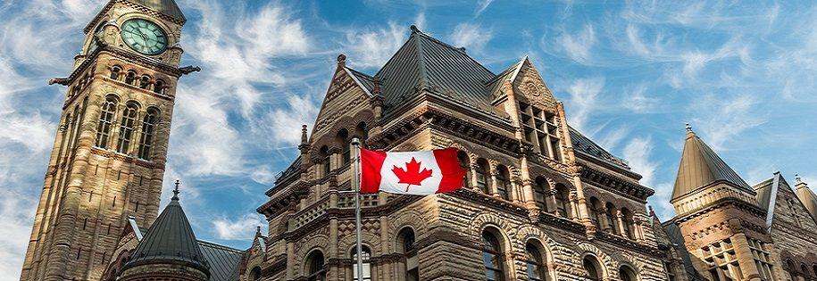 Canada - City Hall - Flag