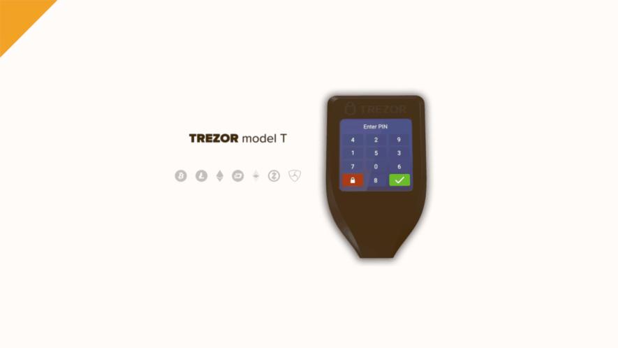 trezor model t - poradnik