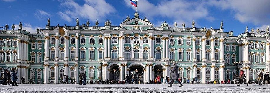 Pałac Zimowy - Petersburg
