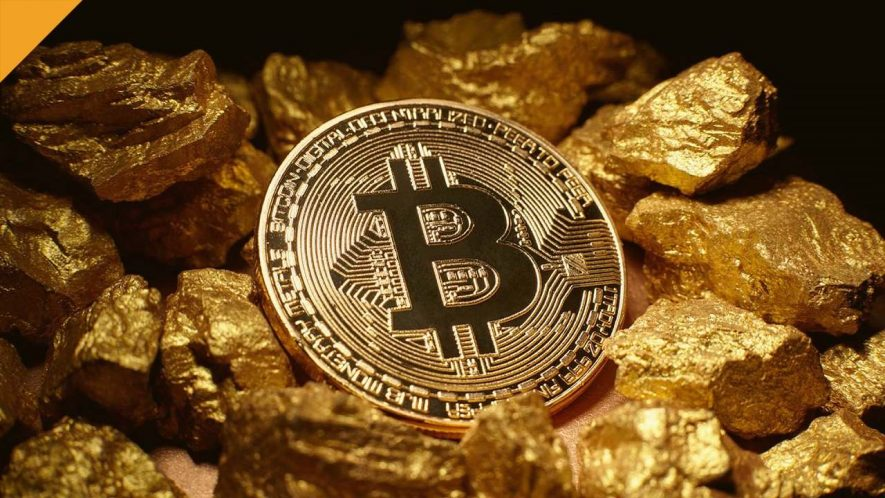 Bitcoin gold treasure