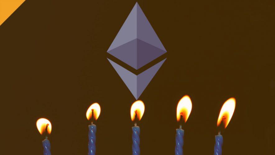5 urodziny ethereum