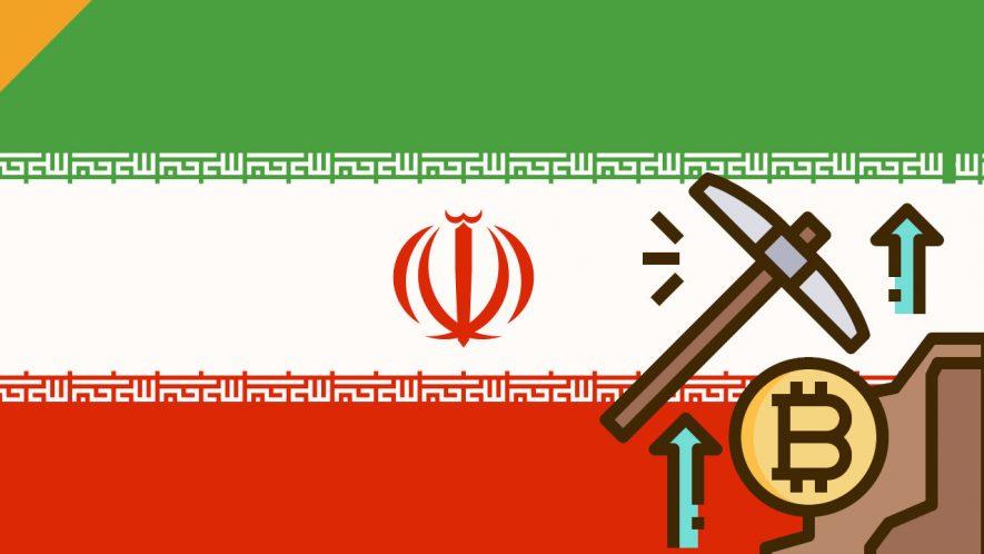 bitcoin mining w iranie