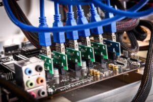 Koparka kryptowalut CPU procesorowa
