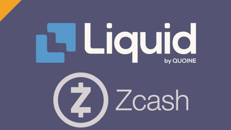 liquid zamierza zdelistować zcash