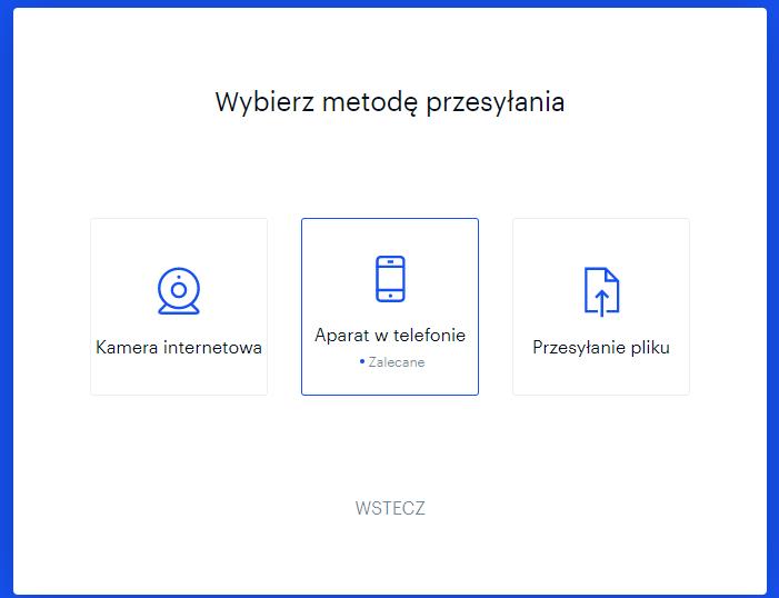 coinbase.com metoda przesłania zdjęcia dokumentu do weryfikacji
