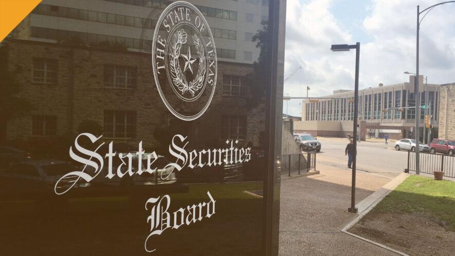 Texas State Securities Board (TSSB) kieruje zarzuty przeciwko kryptowalutowemu oszustwu