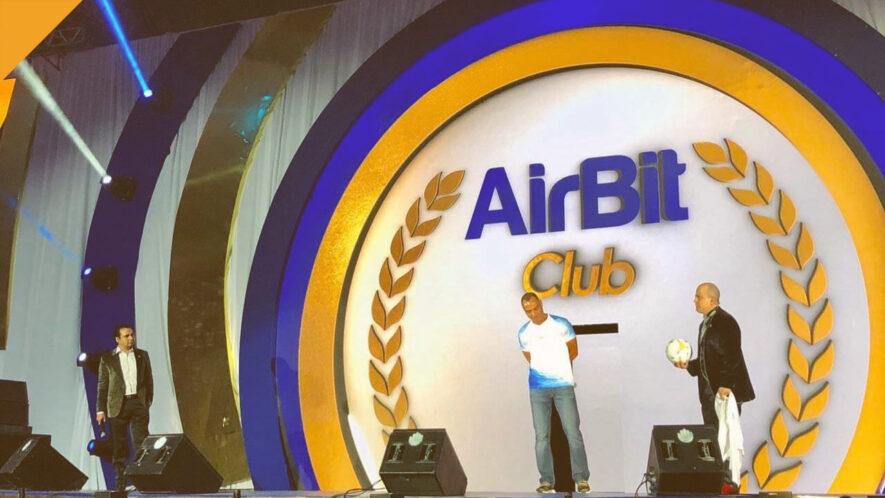 airbit club aresztowany