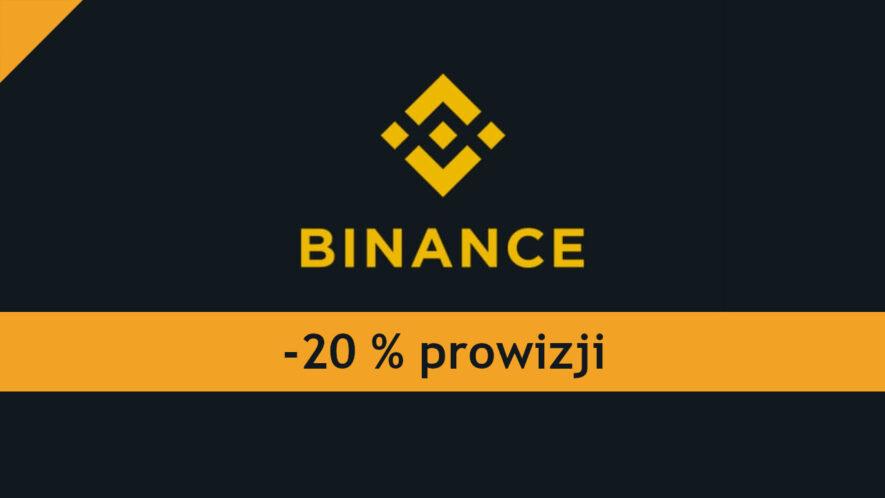 binance prowizja -20%