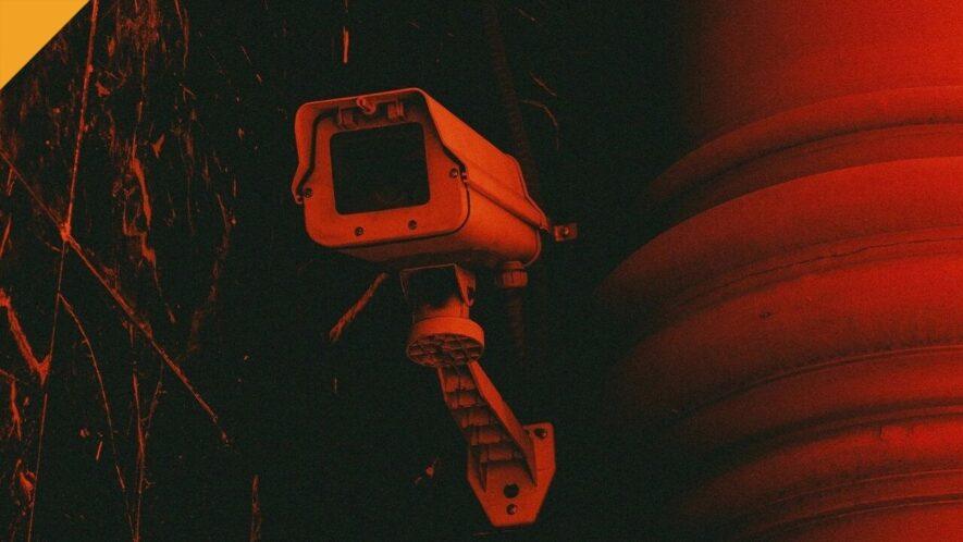 CCTV czerwona