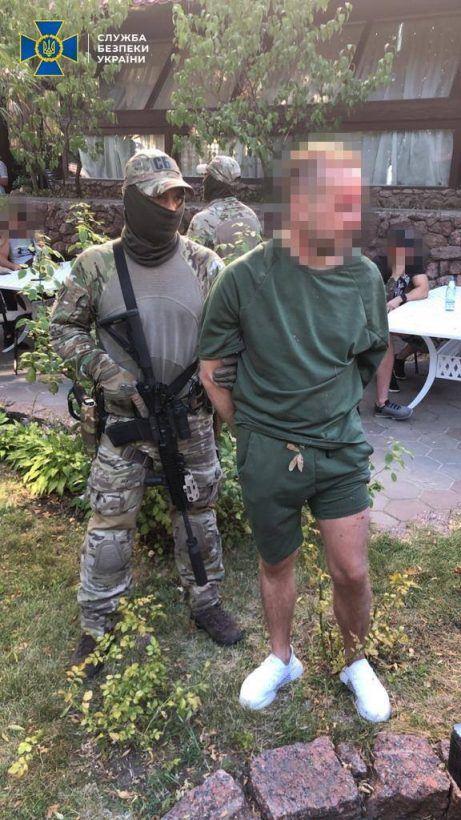 Biznesmen zatrzymany za zlecenie zabójstwo, źródło: ukraińskie sbu