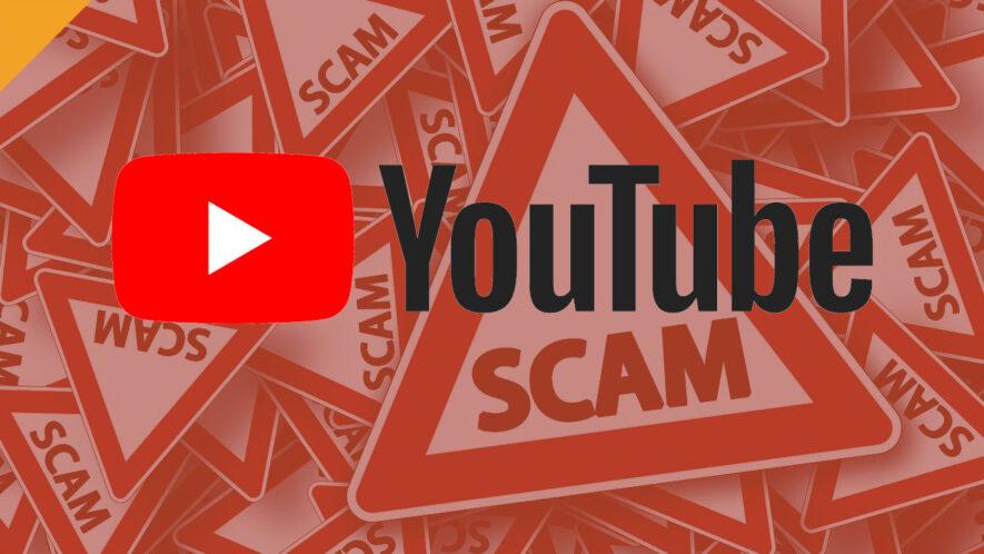 youtube scam