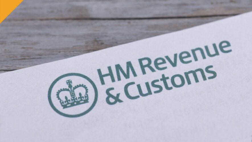 HM Revenue kartka