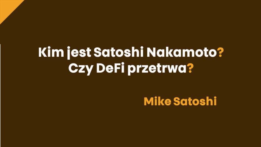 satoshi - wywiad