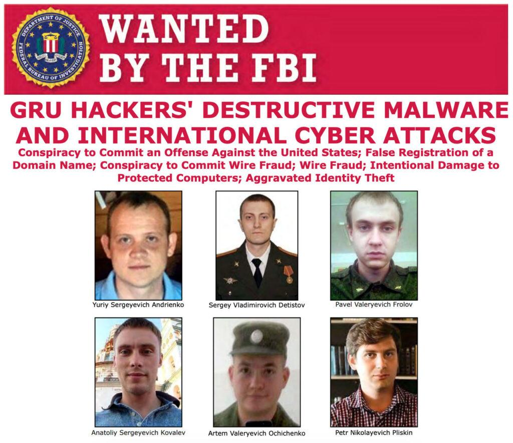 Wanted: russian cyber-spies