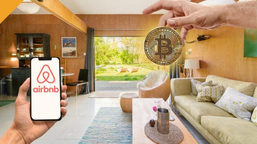 airbnb zainteresowany płatnościami kryptowalutowymi i blockchainem