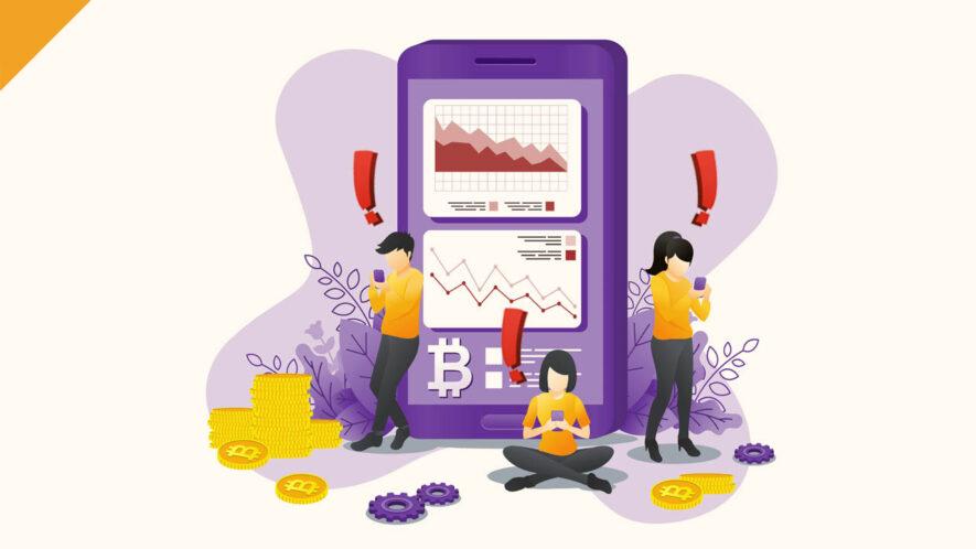 Cena Bitcoina (BTC) drastycznie spadła o ponad 15% w ciągu tylko 24h