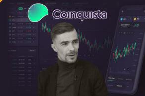 wywiad z prezesem giełdy Coinquista - Michałem Stryjewskim