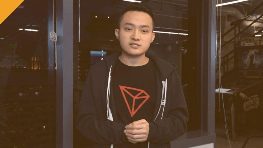 justin sun poinformował o odpartym ataku na siec tron