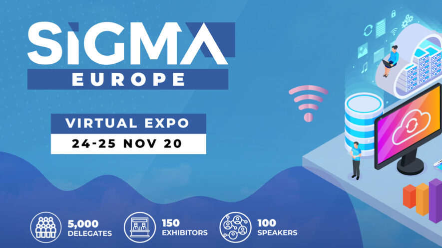 Wydarzenie Sigma Europe 2020 będzie w dużej mierze poświęcone aktualnej sferze gier i technologii w Europie.