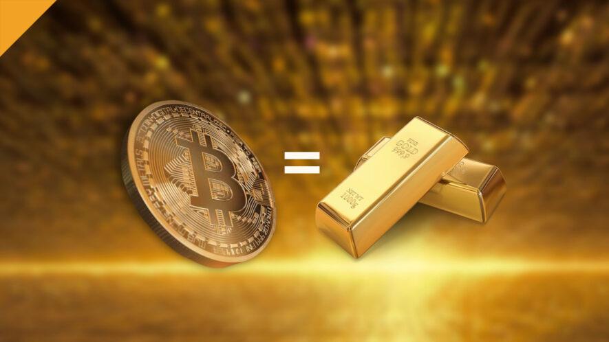 czy bitcoin to cyfrowe złoto, fundusze inwestują w btc