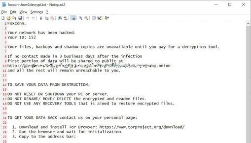 atak ransomware żadanie okupu