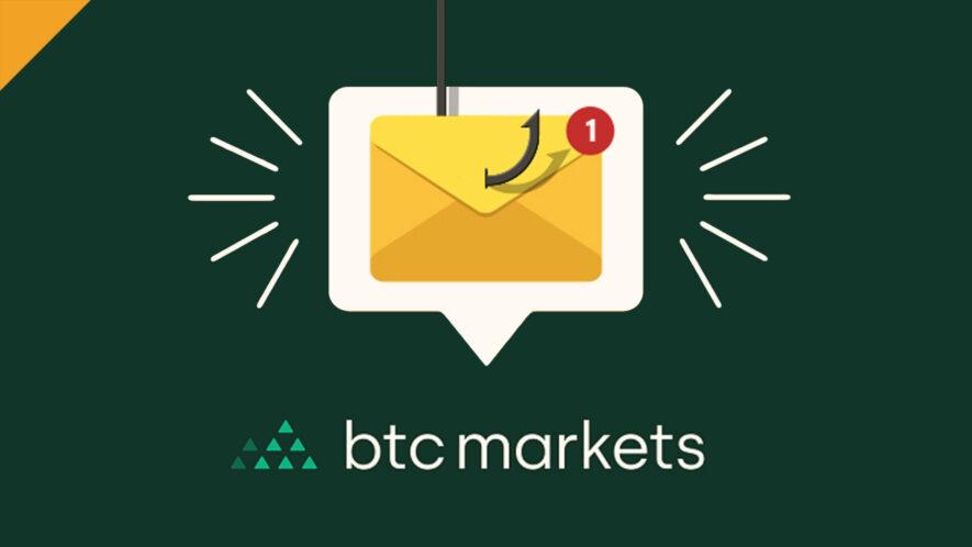 Wyciek emailów z BTC Markets