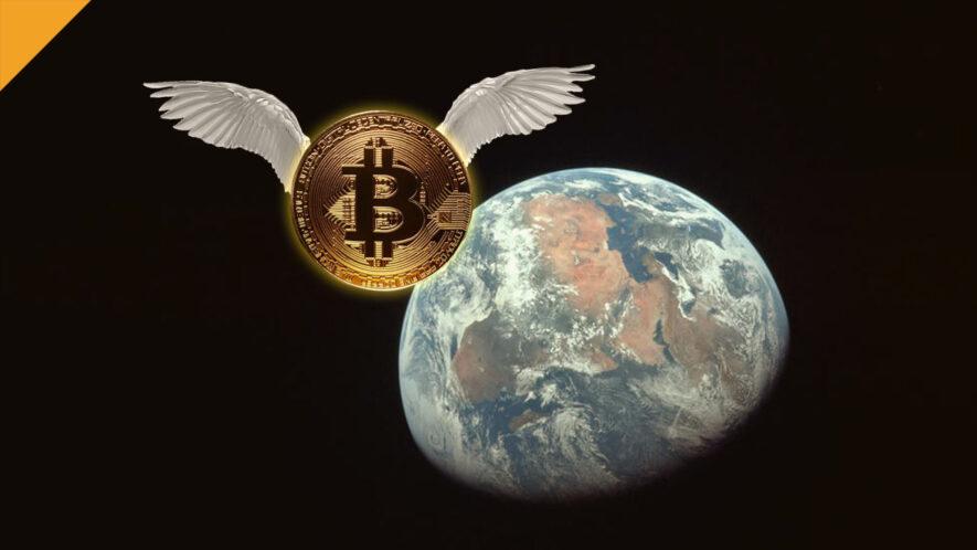 bitcoin flying - ath