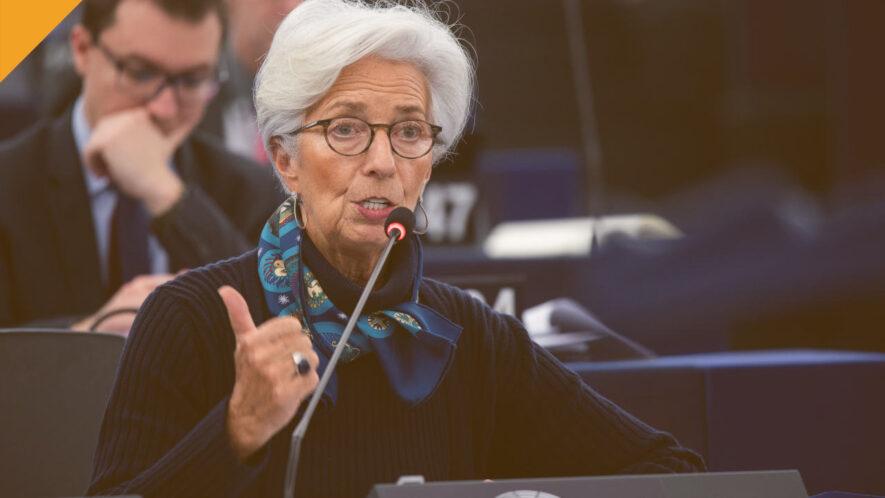 christine legarde - prezes europejskiego banku centralnego krytykuje kryptowaluty i librę facebooka