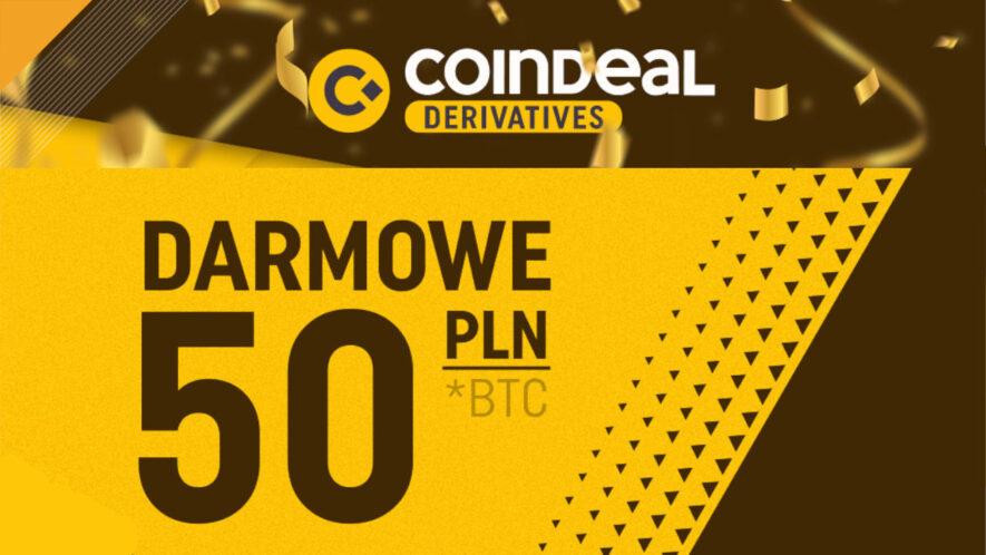 coindeal derivatives oferuje promocję