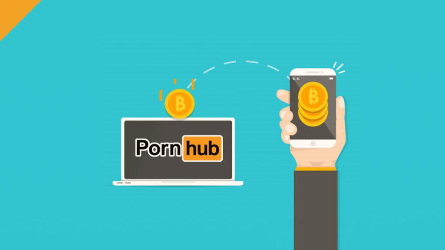 Pornhub obsługuje tylko kryptowaluty