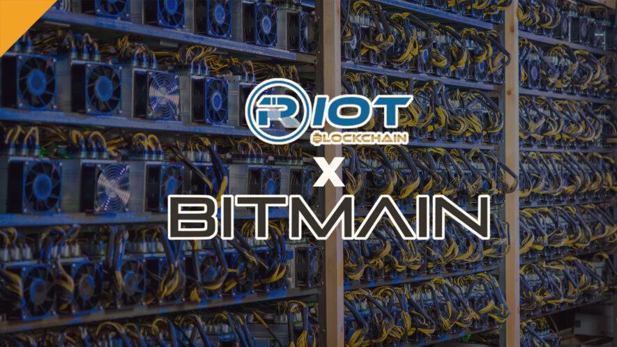 Riot Blockchain kupuje koparki od Bitmain