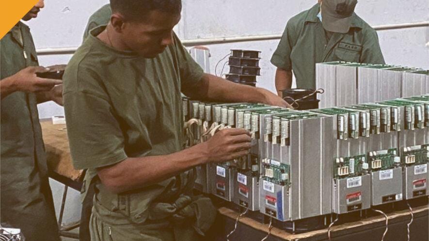 wenezuelska armia zakłada kopalnie kryptowalut