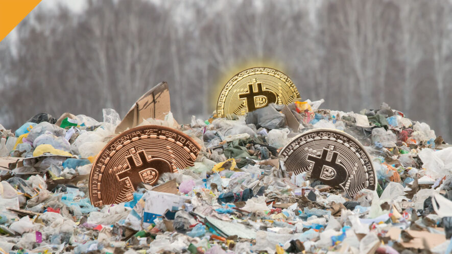 7500 BTC na wysypisku śmieci