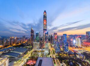 Testy chińskiego CBDC w Shenzhen w Chinach