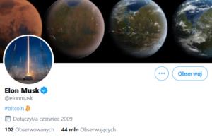 Konto Elona Muska na Twitterze
