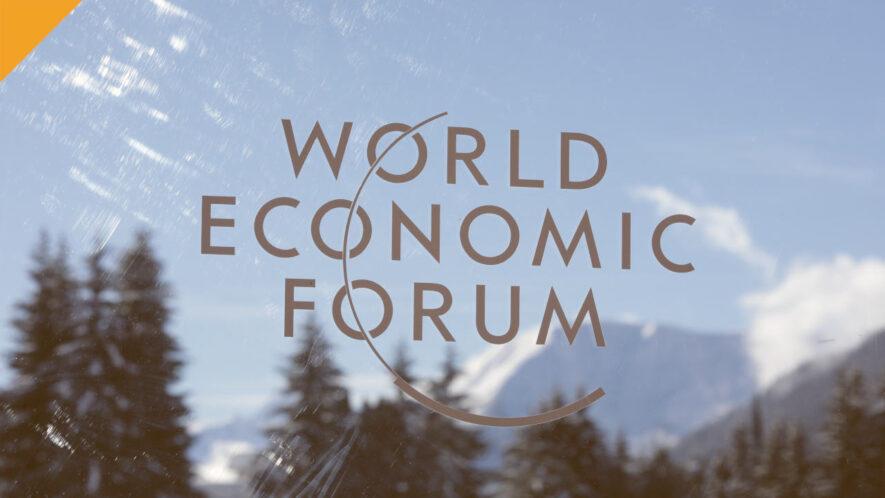 światowe forum ekonomiczne w davos z dwoma panelami o kryptowalutach i cbdc - autor zdjęcia Bloomberg / Jason Alden