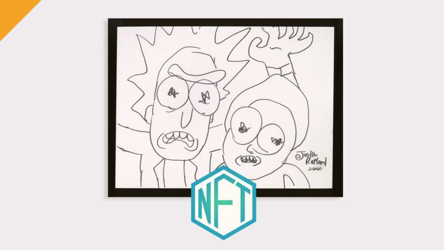 Twórca Ricka i Mortiego, Justin Royland sprzedał swoje dzieła sztuki na Nifty Gateway