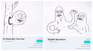 Justin Royland dzieła sztuki sprzedane za ethereum