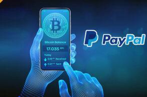 Rekordowy wolumen obrotu kryptowalutami na PayPal - 242 miliony dolarów (USD)