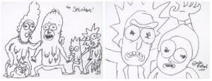"""Praca twórcy """"Rick i Morty"""" sprzedana na aukcji Nifty Gateway"""