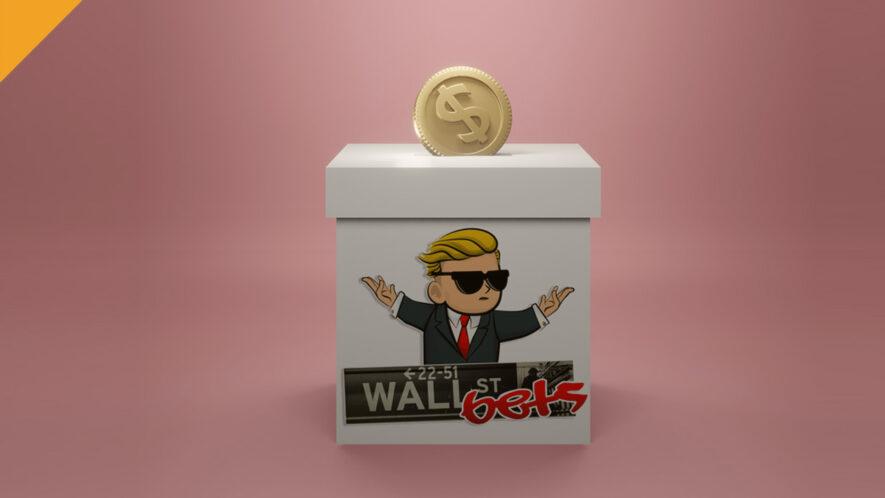Nowa kryptowaluta WallStreetBets (WSB) na szczycie CoinMarketCap