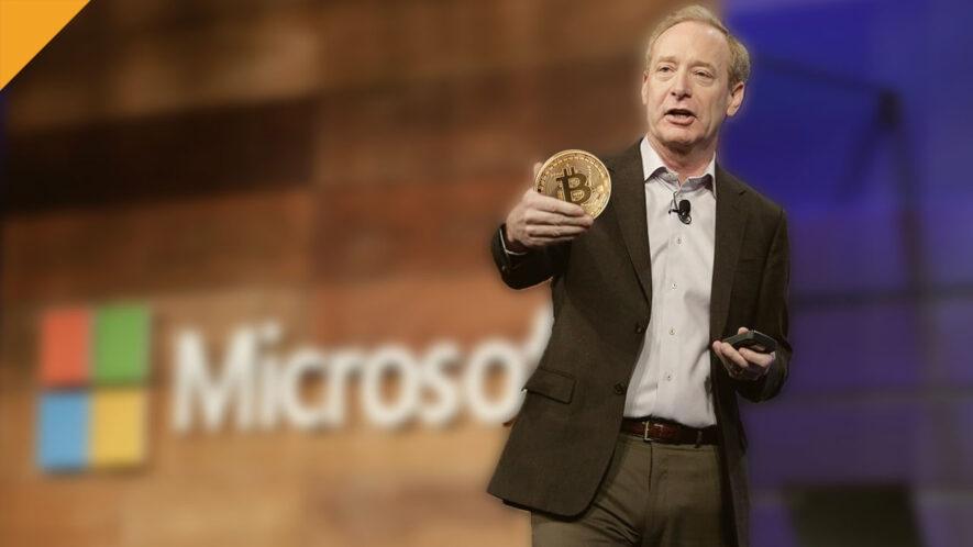 Plany Microsoftu w zainwestowanie w BTC