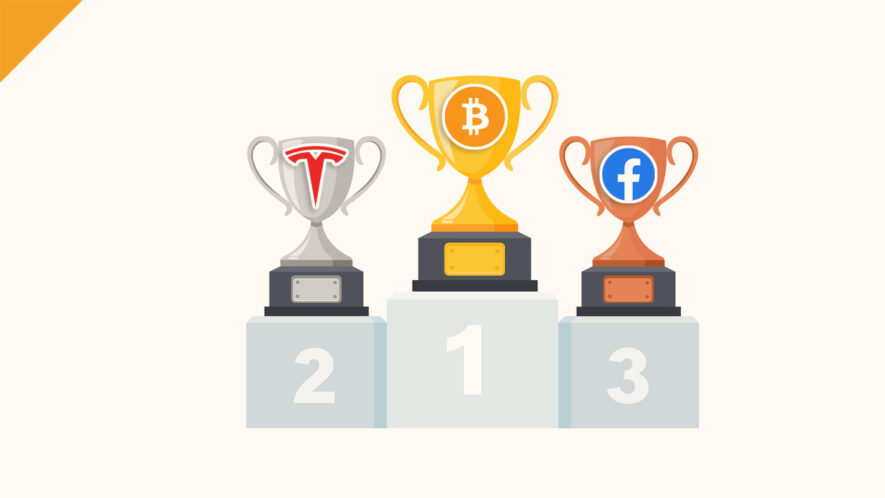 Bitcoin cenniejszy niż Tesla i Facebook